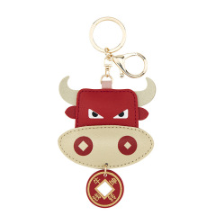 pu皮个性汽车挂件钥匙扣  创意耐用  推广伴手礼