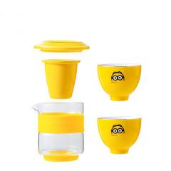 神偷奶爸小黄人随行茶具套装 茶海+茶杯 公司搞活动送礼品
